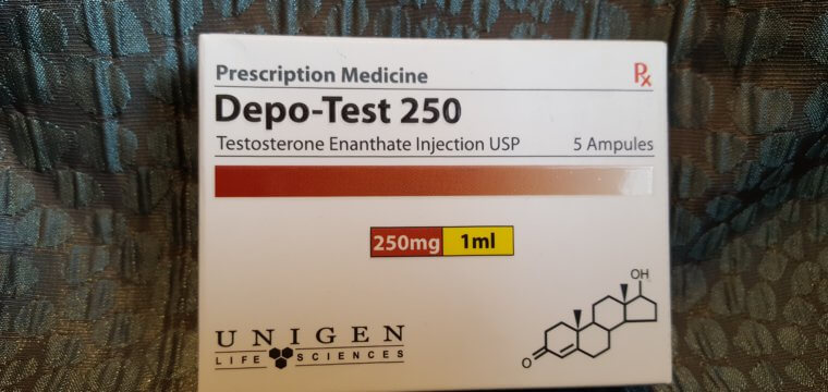 Unigen Depo-Test 250 Dosage Quantification Lab Results [PDF]