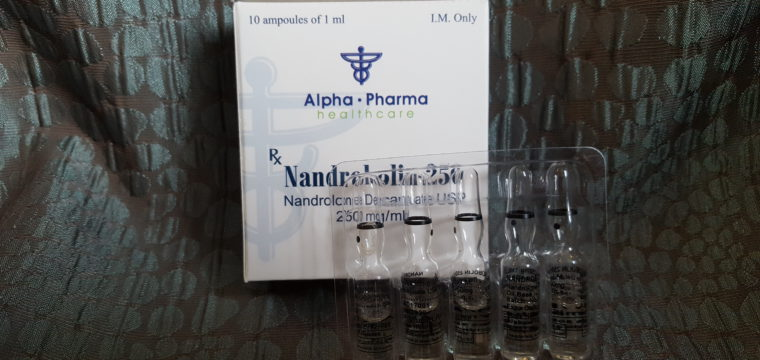 Alpha Pharma Nandrobolin 250 Ampule Lab Test Results