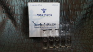 Alpha Pharma Nandrobolin-250 (nandrolone decanoate)