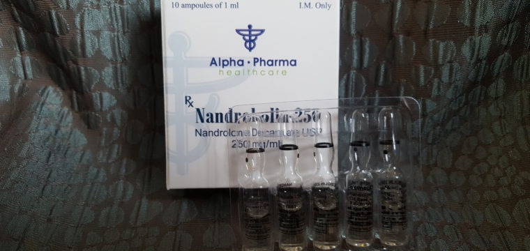 Alpha Pharma Nandrobolin-250 Ampules Dosage Quantification Lab Results [PDF]