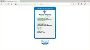 Alpha Pharma Nandrobolin-250 ampules authenticated
