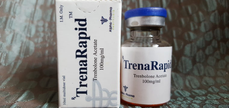 Alpha Pharma TrenaRapid Lab Test Results