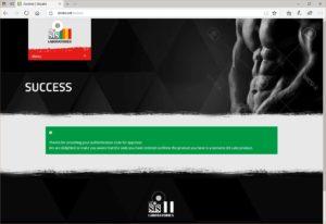 SIS Laboratories Primobolan 100 verification