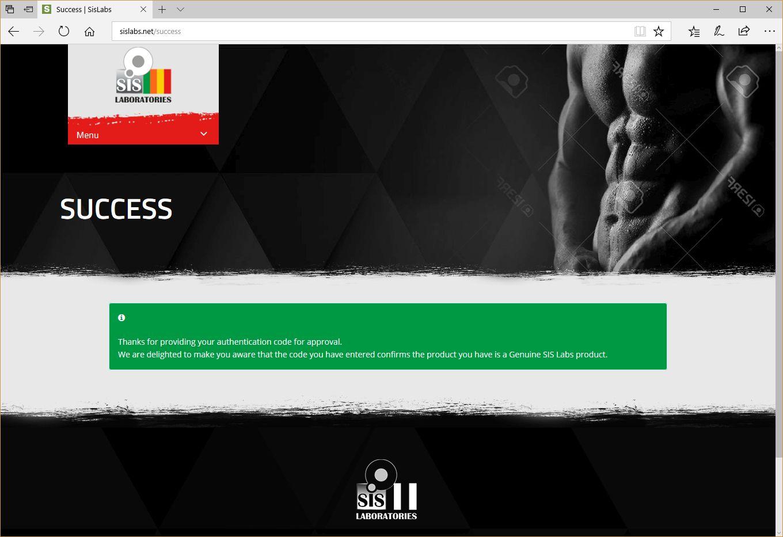 SIS Laboratories Anavar Lab Test Results - Anabolic Lab