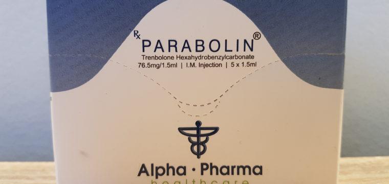 Alpha Pharma Parabolin Dosage Quantification Lab Results [PDF]