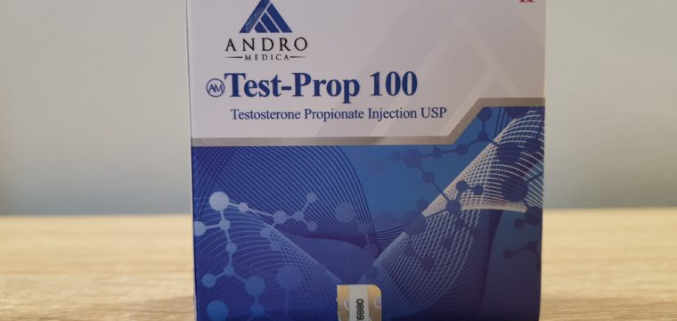Andromedica Test-Prop 100 Dosage Quantification Lab Results [PDF]