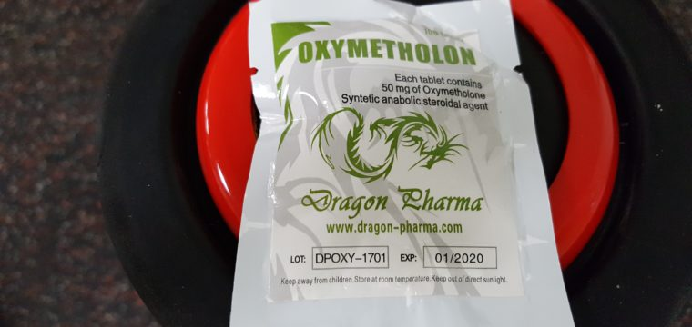 Dragon Pharma Oxymetholon Dosage Quantification Lab Results [PDF]