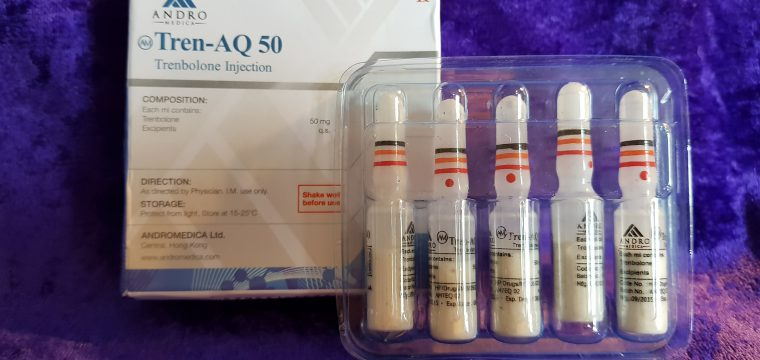 Andromedica Tren-AQ 50 Lab Test Results
