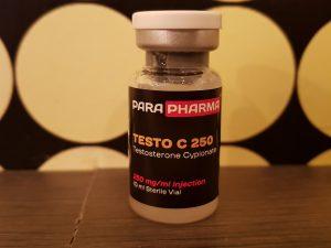 ParaPharma Testo C250 (testosterone cypionate)