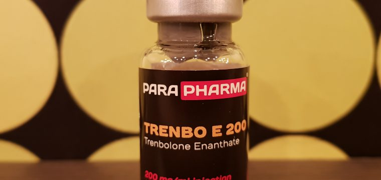 ParaPharma Trenbo E 200 Dosage Quantification Lab Results [PDF]