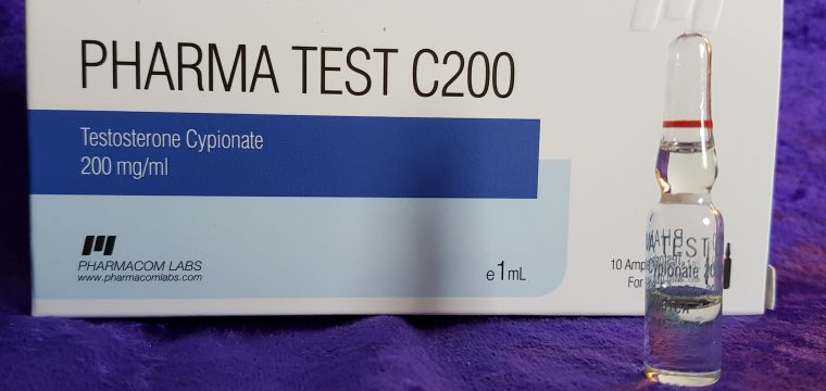 Pharmacom Labs PHARMA Test C200 Lab Test Results