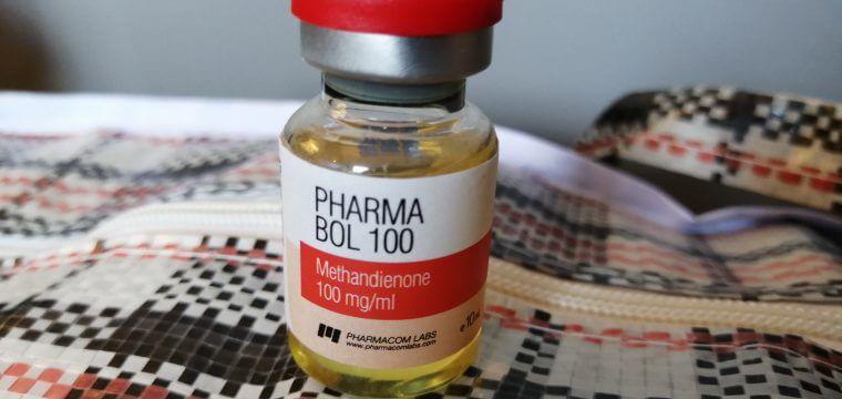 Pharmacom PHARMA BOL 100 Dosage Quantification Lab Results [PDF]